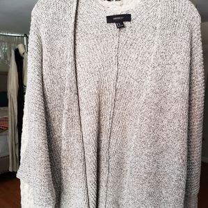 *NWOT* Black/white marbled cardigan
